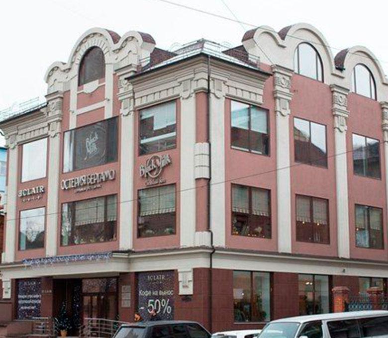 Административное здание по ул. Ядринцевской, 21