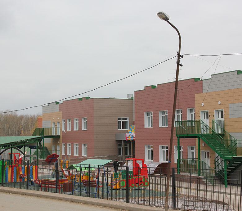 Детский сад по ул. Кубовая