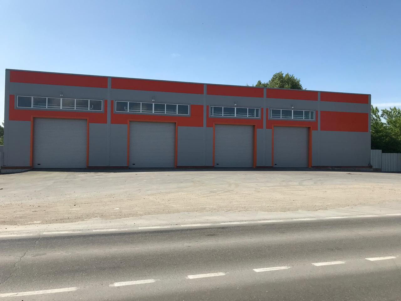 Автомоечный комплекс для грузовых автомобилей